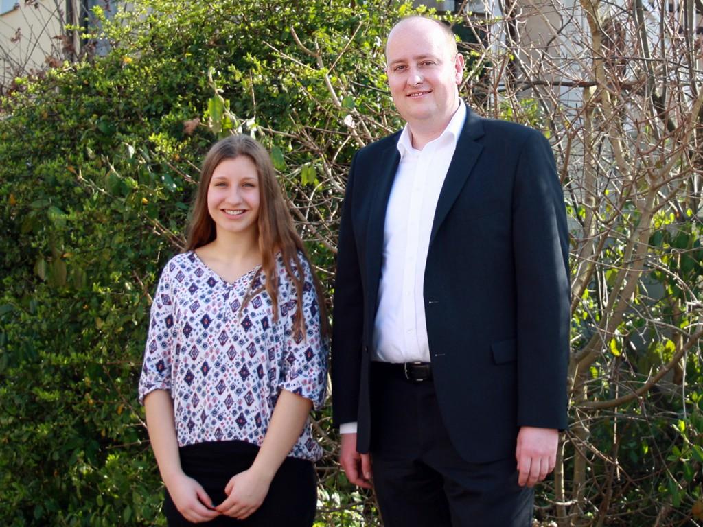 Susanna Kamionka und Matthias Hauer MdB