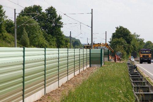 Deutsche Bahn beginnt mit dem Bau der Schallschutzwände in Essen-Kray Süd