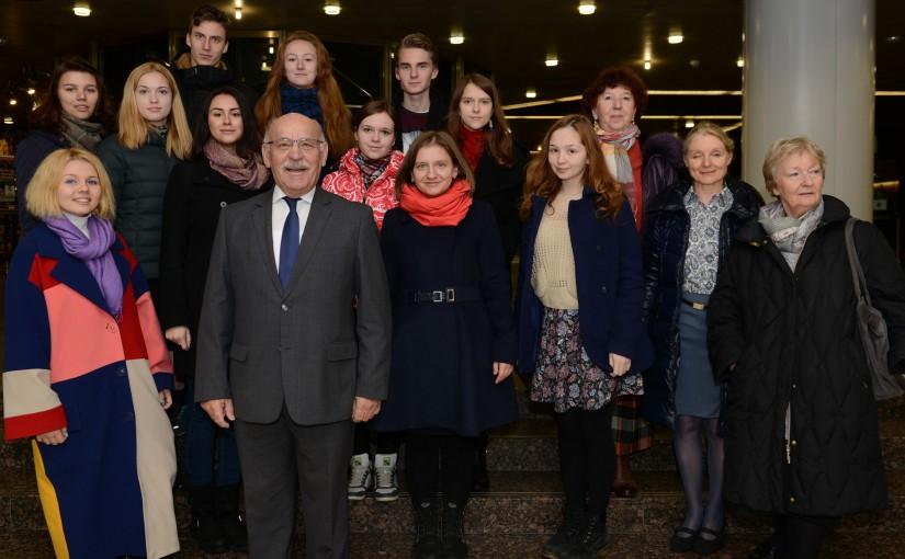 Studierende aus Nishnij Nowgorod besuchten das Essener Rathaus