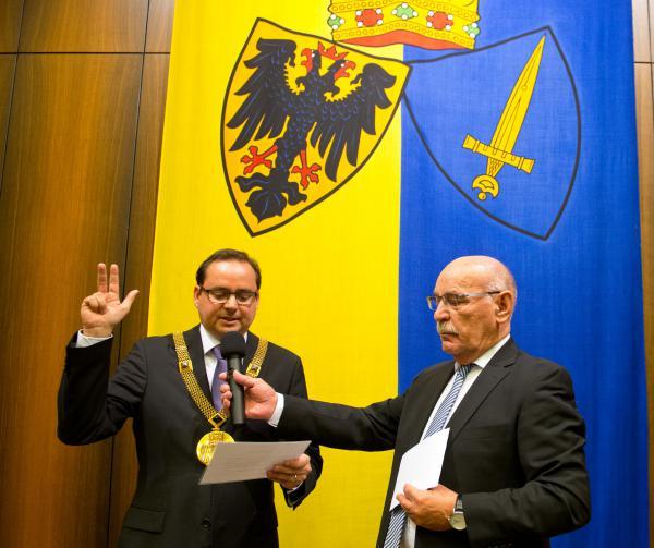 Oberbürgermeister Thomas Kufen vereidigt
