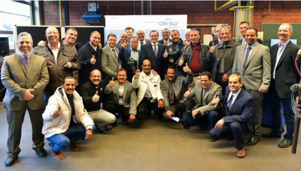 18 ägyptische Schweißwerkmeister zertifiziert