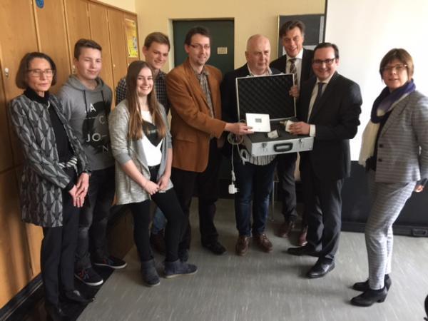 "Helmholtzgymnasium mit Pilotprojekt im Kontext ""Grüne Hauptstadt"""