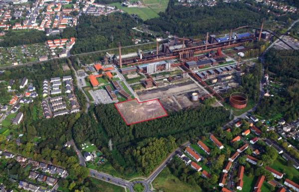 Grundsteinlegung für Sitz der RAG AG und RAG-Stiftung auf Zollverein