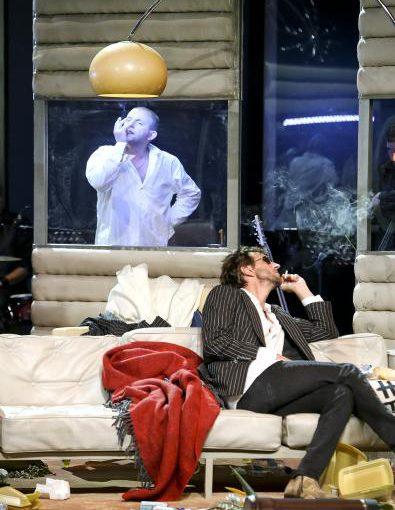 Dominique Horwitz wieder in der Rolle des Serge Gainsbourg am Theater Oberhausen