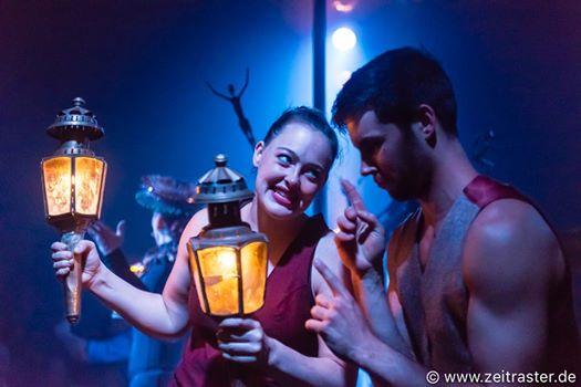 """Nur noch bis Sonntag gibt es die Poesie und Lebensfreude des """"Cirque Bouffon"""" in Gelsenkirchen"""