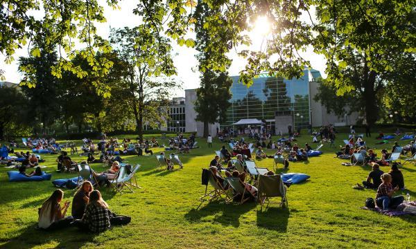 Parksounds Stadtgarten Essen, 25 Juni 2015 Foto: Sven Lorenz, Essen