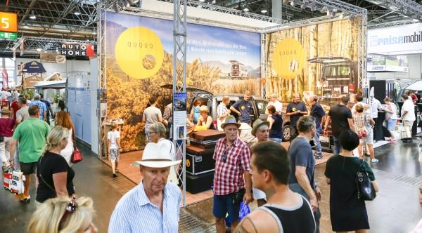 Mit einem Rekord zum 55. Geburtstag will die Messe Düsseldorf punkten