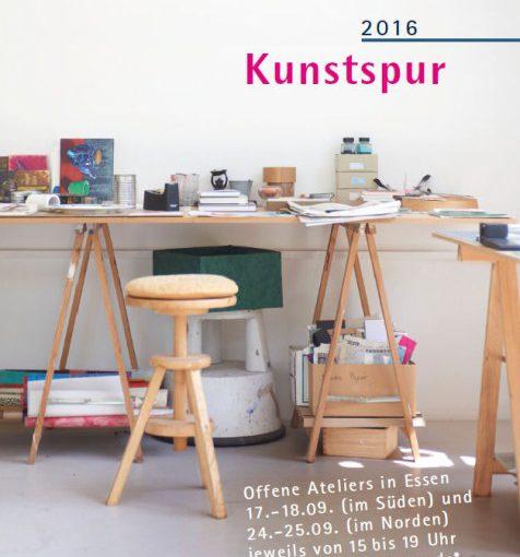 18. KUNSTSPUR Essen.Offene Ateliers 2016