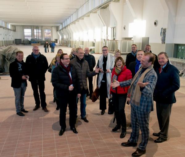 Verwaltungsvorstand der Stadt tagt auf Zollverein