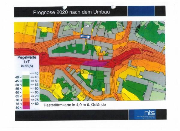 Viel Lärm in Werden-Mitte durch das Verkehrsverlagerungskonzept