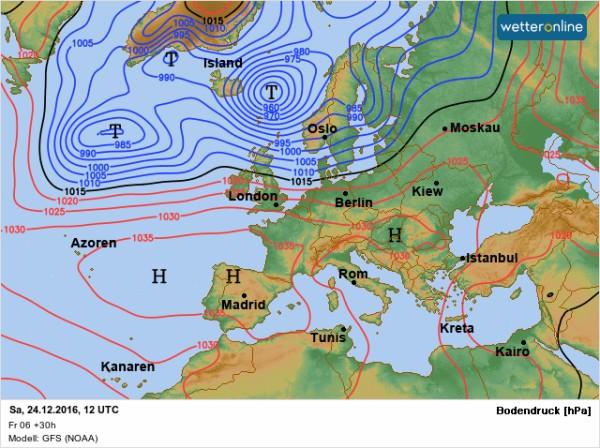 Nur regional etwas Sonne dabei – Im Norden stürmischer Wind