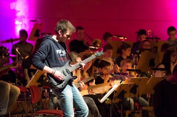 Essener Schüler und Flüchtlinge gestalten gemeinsam ein Konzert