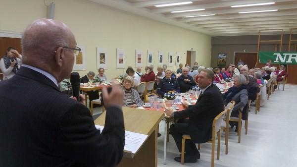 Verkehrsaufklärung der Polizei Essen für Essener Seniorinnen und Senioren