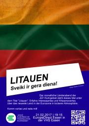 Wissenswertes über Litauen beim Länderabend der Jungen Europäischen Föderalisten (JEF)