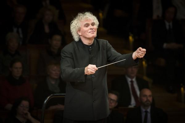 Berliner Philharmoniker und Sir Simon Rattle in der Philharmonie Essen