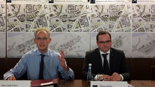 Stadt stellt Planungen zum RS1 am Eltingviertel vor