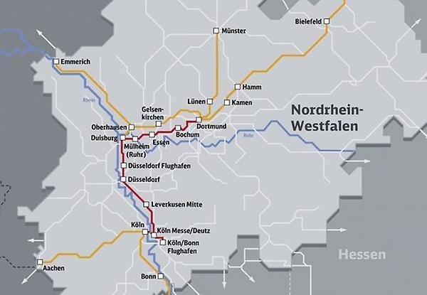 Rhein-Ruhr-Express wird ausgebaut