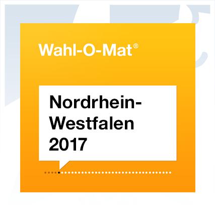 Wahl-O-Mat zur NRW-Wahl online