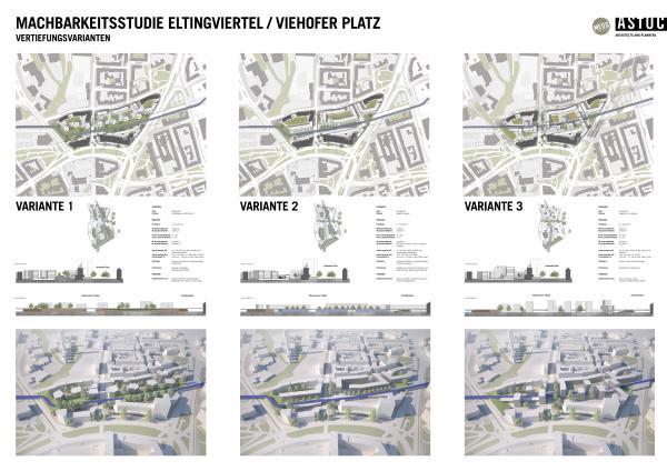 """Städtebauliche Integration des Radschnellwegs Ruhr RS1 – Machbarkeitsstudie """"Eltingviertel / Viehofer Platz"""""""