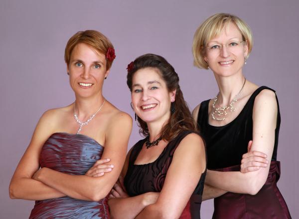 """Das """"Trio Rosenpalais"""" lädt zur musikalischen Damenwahl im Grugapark"""
