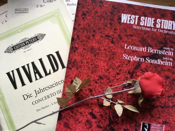 Von Vivaldi bis West Side Story – Orchesternoten der Folkwang Musikschule können jetzt in der Stadtbibliothek Essen ausgeliehen werden