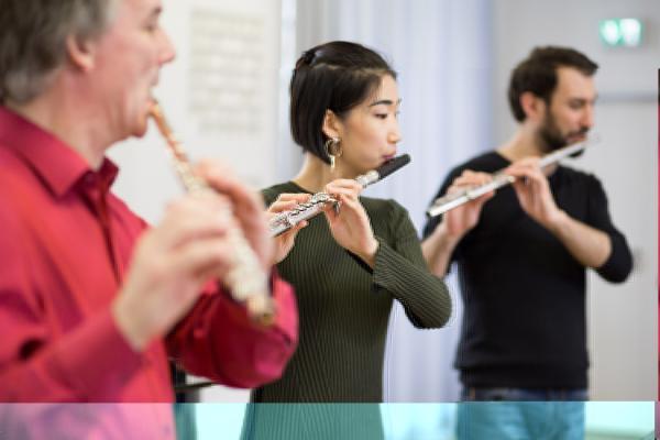 Konzert der Querflötenklasse Prof. (stv.) Felix Reimann im Kammermusiksaal