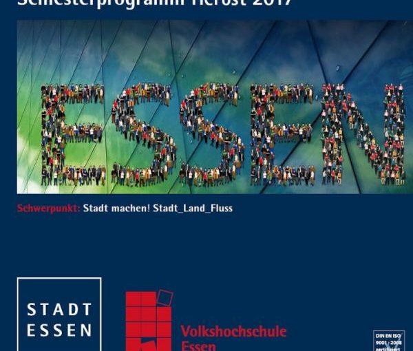Das VHS-Programm Herbst 2017: neu und in Farbe!