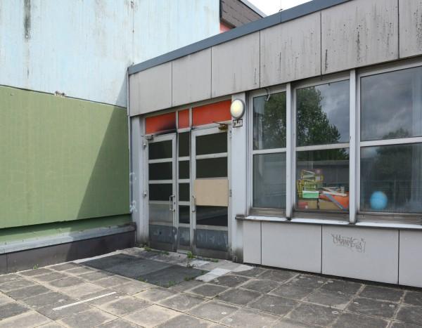 Brand in der Gesamtschule Bockmühle in Essen-Altendorf