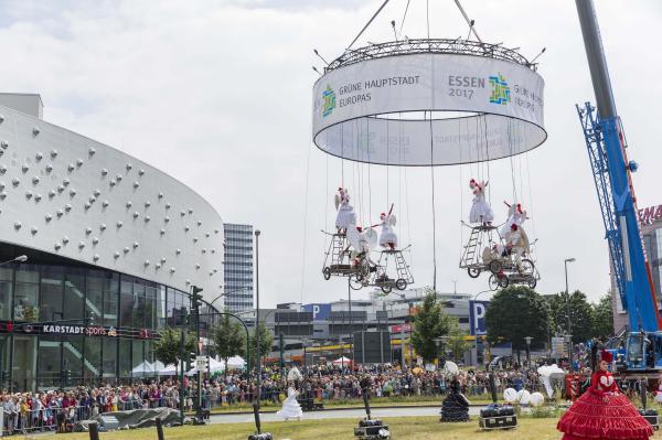 12.500 Besucher beim Tag der Bewegung in der Essener Innenstadt