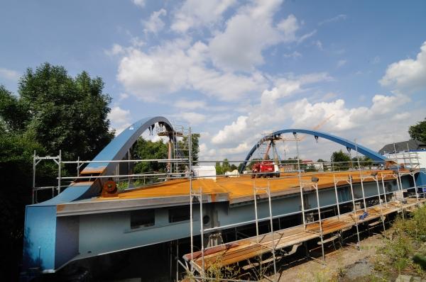 Zwischenstand zum Neubau der Nünningbrücke