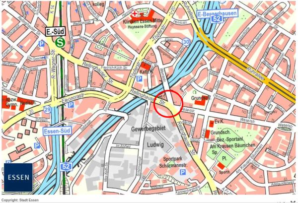 Ausbau der Haltestelle Weserstraße und Instandsetzung der Rellinghauser Straße