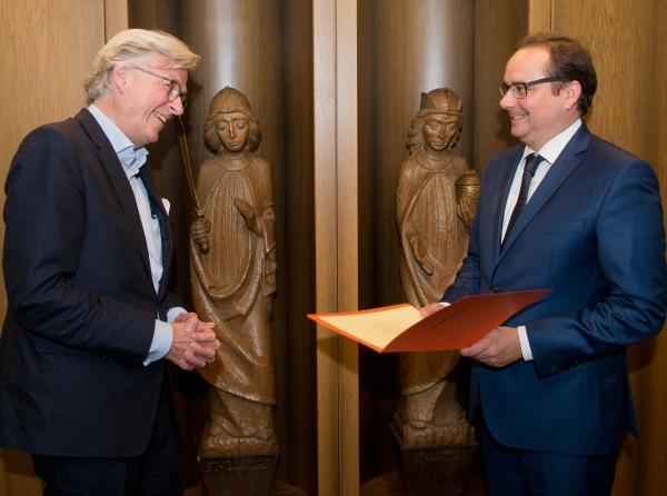 Folkwang Kustos Mario-Andreas von Lüttichau geht in den Ruhestand