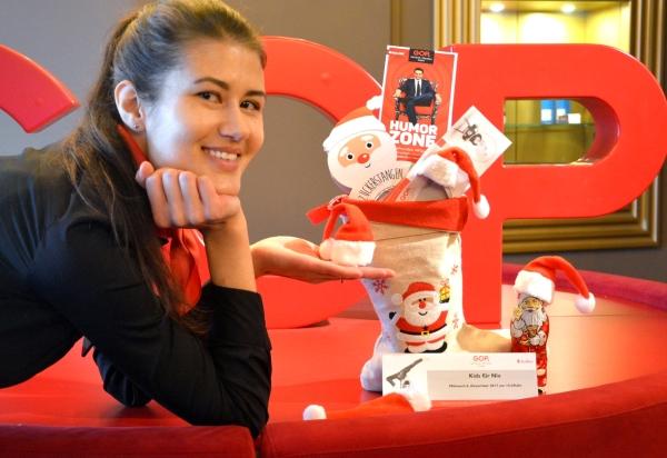 Freier Eintritt für Kinder am Nikolaustag, 6. Dezember, in der Nachmittagsvorstellung im GOP.
