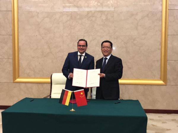 Empfang durch den Bürgermeisterder Essener Partnerstadt Changzhou